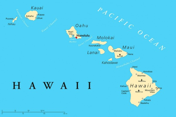 Hawaii timeshare resale properties by island